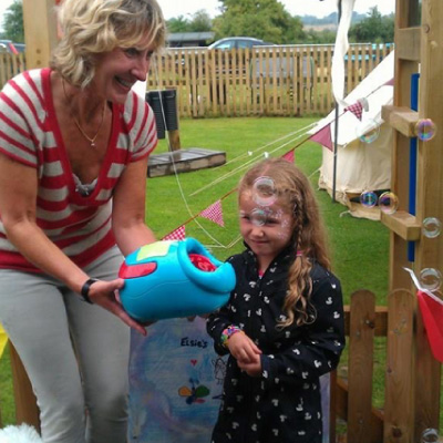 Smarties nursery open fairy garden in memory of Elsie